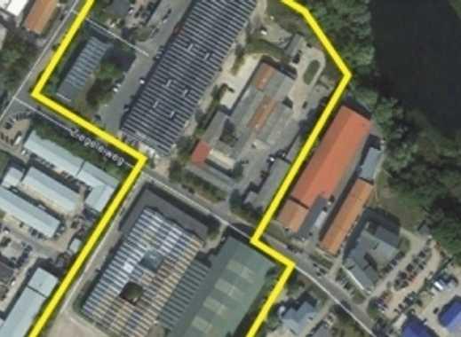 140m² Hallenflächen zu vermieten mit Sektionaltor