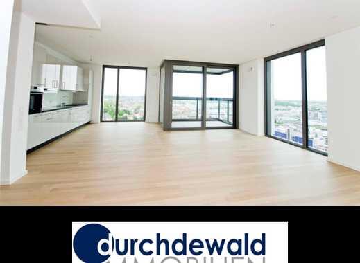 Spektakuläre 3-Zimmer-Neubau-Wohnung mit tollem Ausblick im höchsten Wohnhaus Stuttgarts