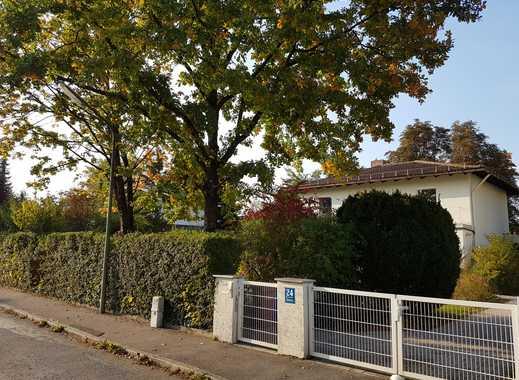 Idyllisches Haus im Grünen, 6 Zimmer mit riesigem Garten in Obermenzing