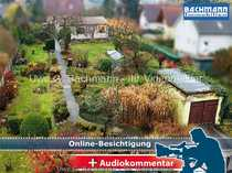 Bild Berlin-Heinersdorf: Einfamilienhaus auf großem Grundstück 1416m² mit Baulandreserve - UWE G.BACHMANN