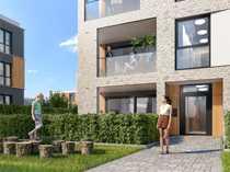 PANDION LEON - Barrierefreie 3-Zimmer-Gartenwohnung mit