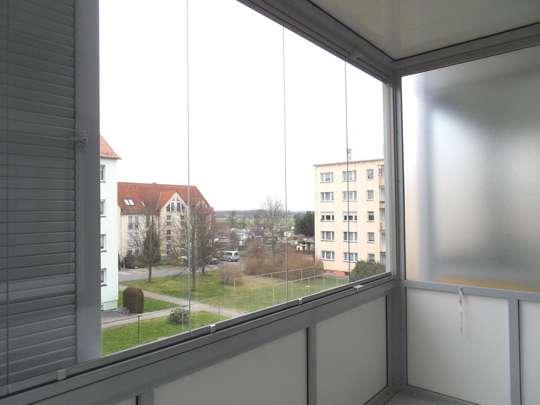 Ab November - Schöne sonnige 2,5-Raumwohnung mit großem Balkon in Frohburg!