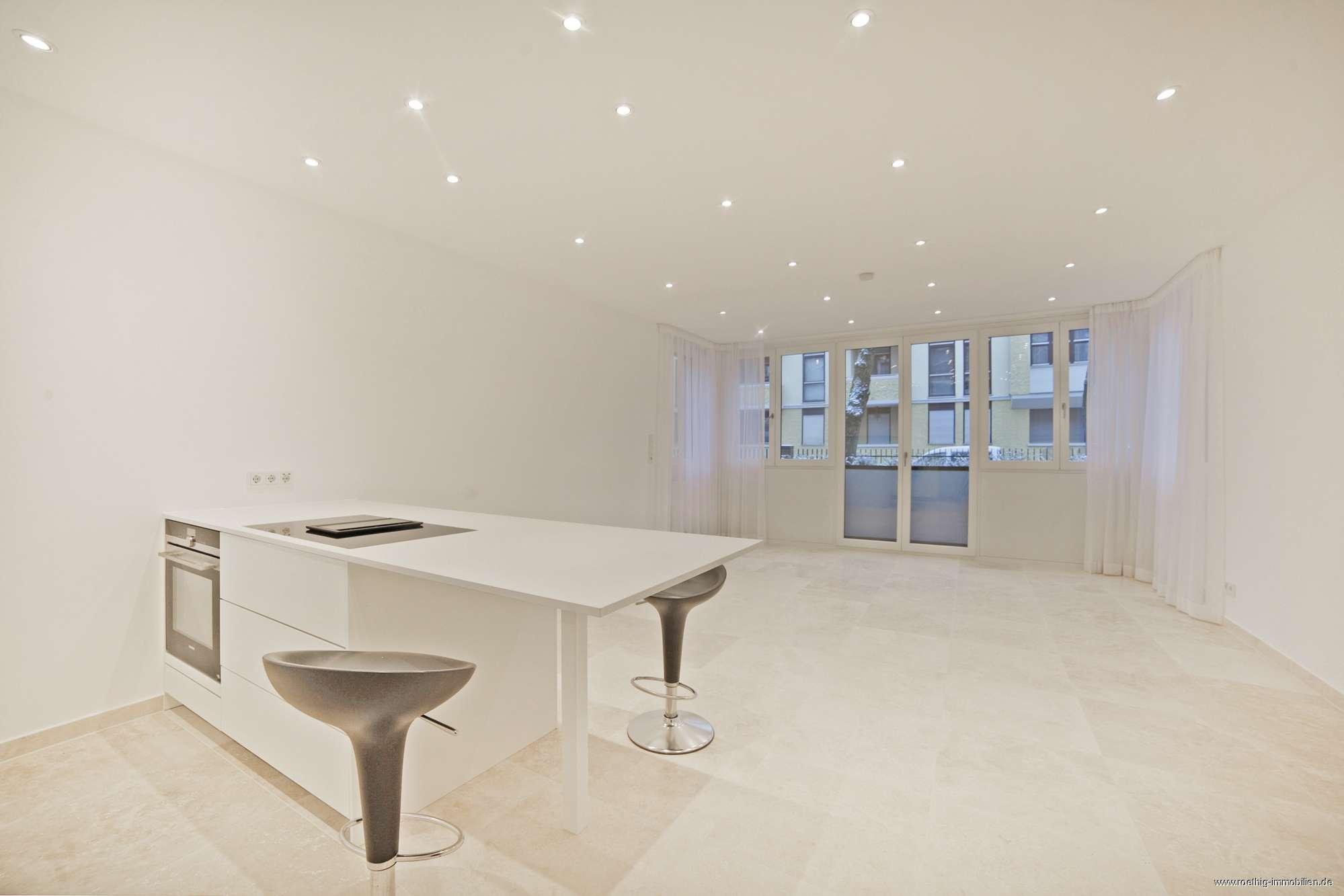 Luxuriös saniertes, großes Appartement in bester Lage im Herzogpark! Sofort bezugsfrei! EBK & Luxusb in Bogenhausen (München)