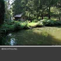 Ruhig gelegene Teichanlage mit kleinem