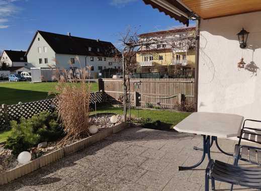 Stilvolle, gepflegte 3-Zimmer-Wohnung mit Garten und Terrasse in Hallbergmoos