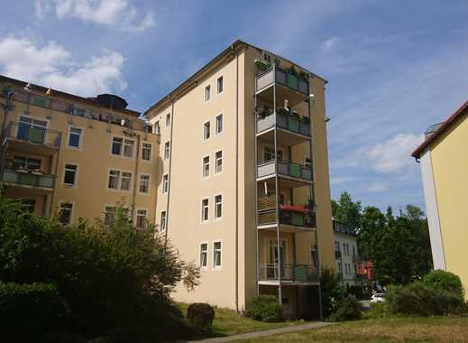 3 Zimmer und 1 Balkon mit Ausblick im idyllischen Lockwitzgrund