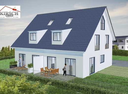 Neubau von einer Doppelhaushälfte im ruhigen München - Allach