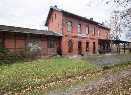 Historischer Bahnhof mit vielen Möglichkeiten im Weserbergland zu verkaufen