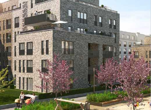 Erstbezug mit Balkon und Einbauküche: exklusive 3-Zimmer-Wohnung in den Karolingerhöfen