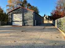 Neue Warmhalle 300m² -Alarmgesichert- 1200
