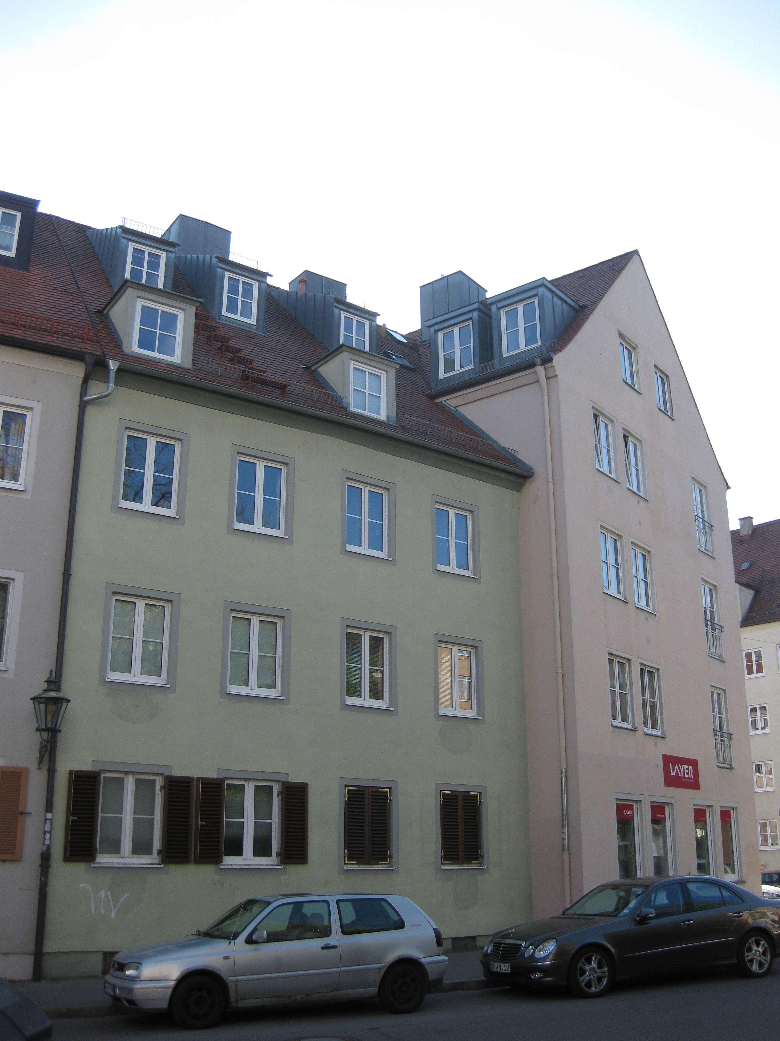 Zwischen der Prachtmeile Maximilianstraße und der City-Galerie, Augsburg-Innenstadt