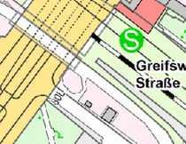 Bild Direkt-S-Bahn- Ausgang- Ca. 100 qm Handelsfläche für Imbiss oder Einzelhandel zu vermieten