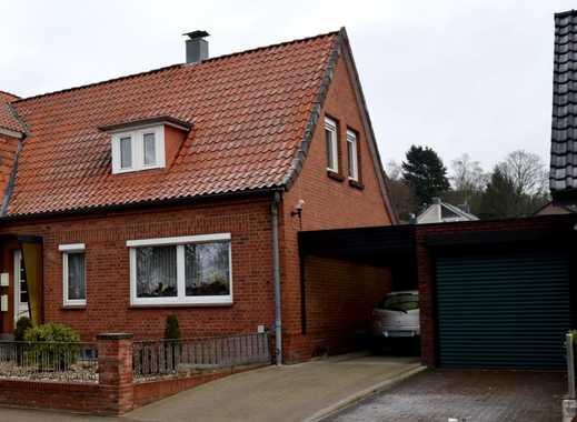 Doppelhaushälfte mit Keller und Garage im Zentrum von Geesthacht