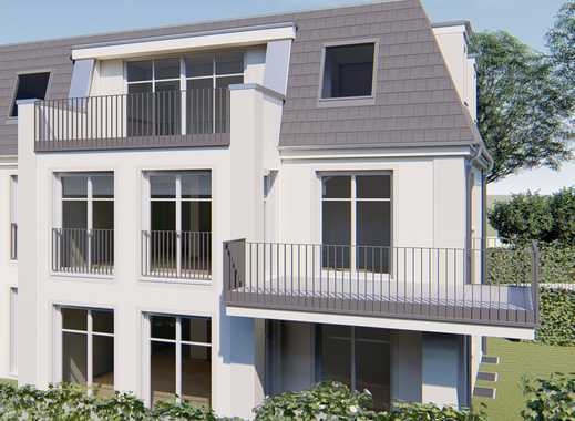 Exklusive Doppelhaushälfte mit Tiefgarage am Godelsberg mit Blick über Aschaffenburg