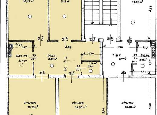 Günstige, vollständig renovierte 3-Zimmer-Wohnung mit Balkon in Limburg