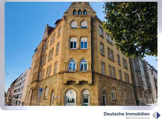 Über den Dächern Stuttgarts! Große Maisonette mit Dachterrasse in S- West