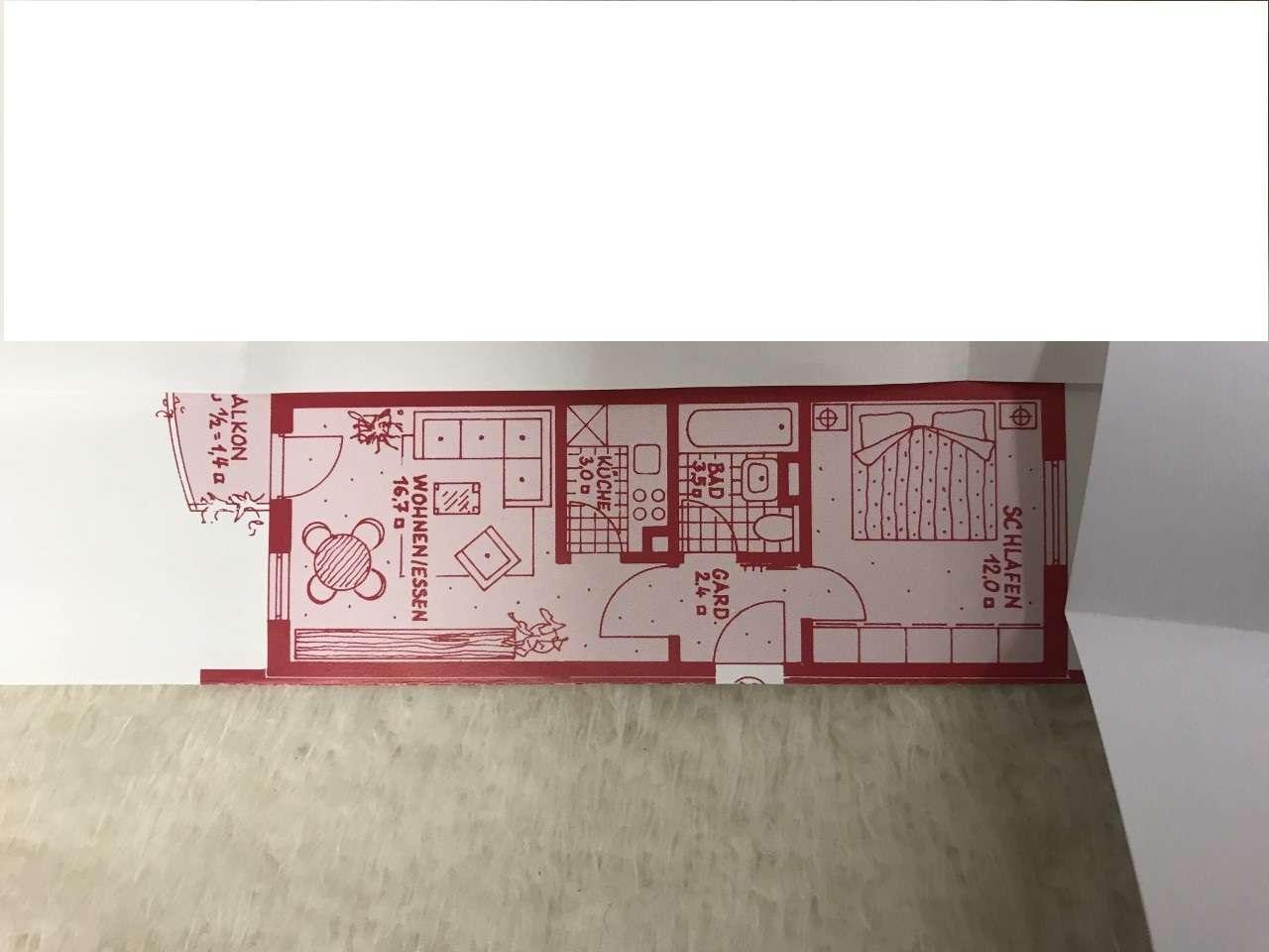 Stilvolle, helle 2-Zimmer-Wohnung mit Balkon in Ingolstadt  in Mitte (Ingolstadt)
