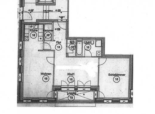 Die WOBAK vermittelt im Auftrag: Große 2,5-Zimmer-Wohnung am Seerhein