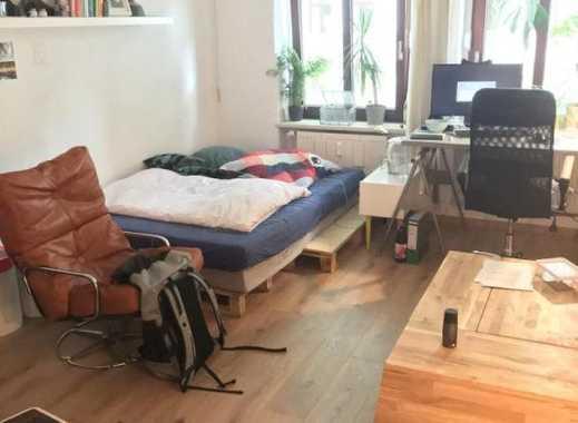 Möbliertes 22 qm Zimmer im schönen Stadtfeld Ost, helle, ruhige Lage mit Top Anbindung