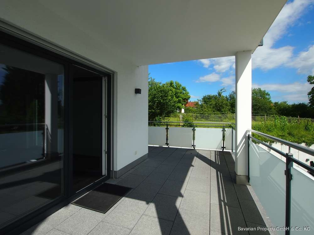 Neuwertige 2-Zimmer Wohnung mit Balkon/Terrasse in Mitterfels in