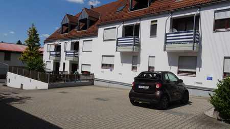 Fischach modernisierte 2 ZKB, Balkon im 1.Stock in Fischach