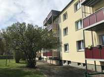 Bezahlbare 3-Raum-Wohnung mit Balkon im