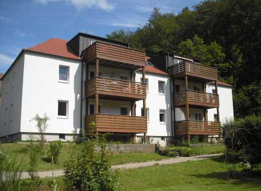 4 Raum Wohnung im 1.Obergeschoss mit Balkon und Garage in Sülzhayn