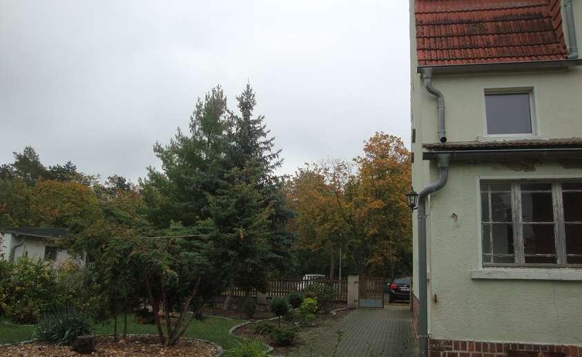 Grundstückseingang