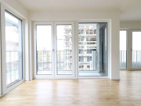 3-room apartment with 2 balconies, first-time occupation and ...
