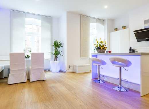 Voll möbliert! Geräumige und luxuriöse 4-Zimmer-Wohnung mit kleiner Terrasse