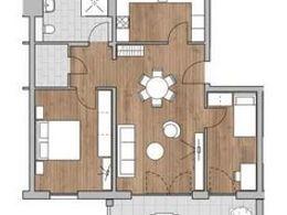 Grundriss 3-Zimmer 84,33m²