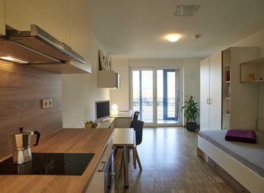 Studenten aufgepasst: unmöbliertes, modernes Apartment mit Balkon und Einbauküche!
