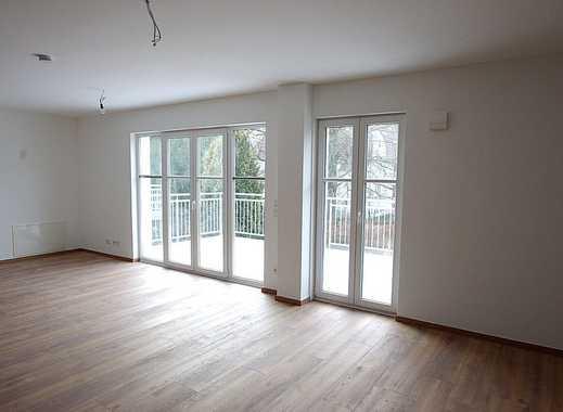 Neubau Erstbezug! Schicke 3-Zimmer-Wohnung mit großem Balkon und Garage - Innenstadtlage