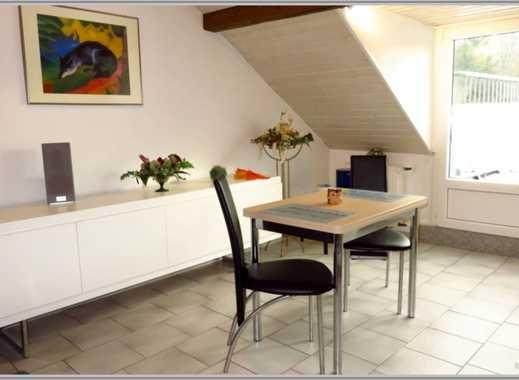 Komplett möbliertes Apartment mit großem Balkon und toller Aussicht!