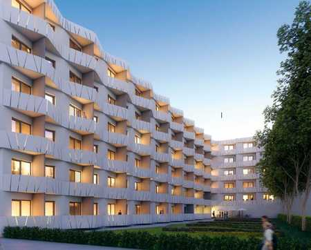 Schönes, neues, komplett möbliertes 1-Zi Apartment in München! Sehr gute Infrastruktur! in Riem