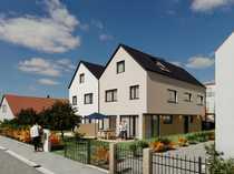 Neubau exklusiver Doppelhaushälften KfW55 Augsburg