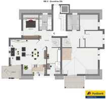 Bild NEUBAU - Schicke, großzügige 4 Zimmer ETW im DG mit Galerie im Spitzboden