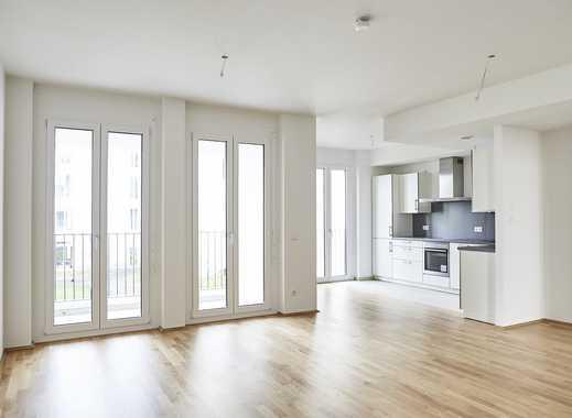 Am Olympiapark Neubau, 3 Zimmer Wohnung mit Loggia, 92 qm, Ideal geschnitten. Bezug Anfang 08 / 2019