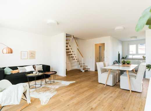 Neue Doppelhaushälfte mit hellem Wohn-/Küchenbereich inkl. Terrasse und Garten