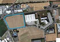 Baugrundstück mit Baugenehmigung für Logistik-Fläche