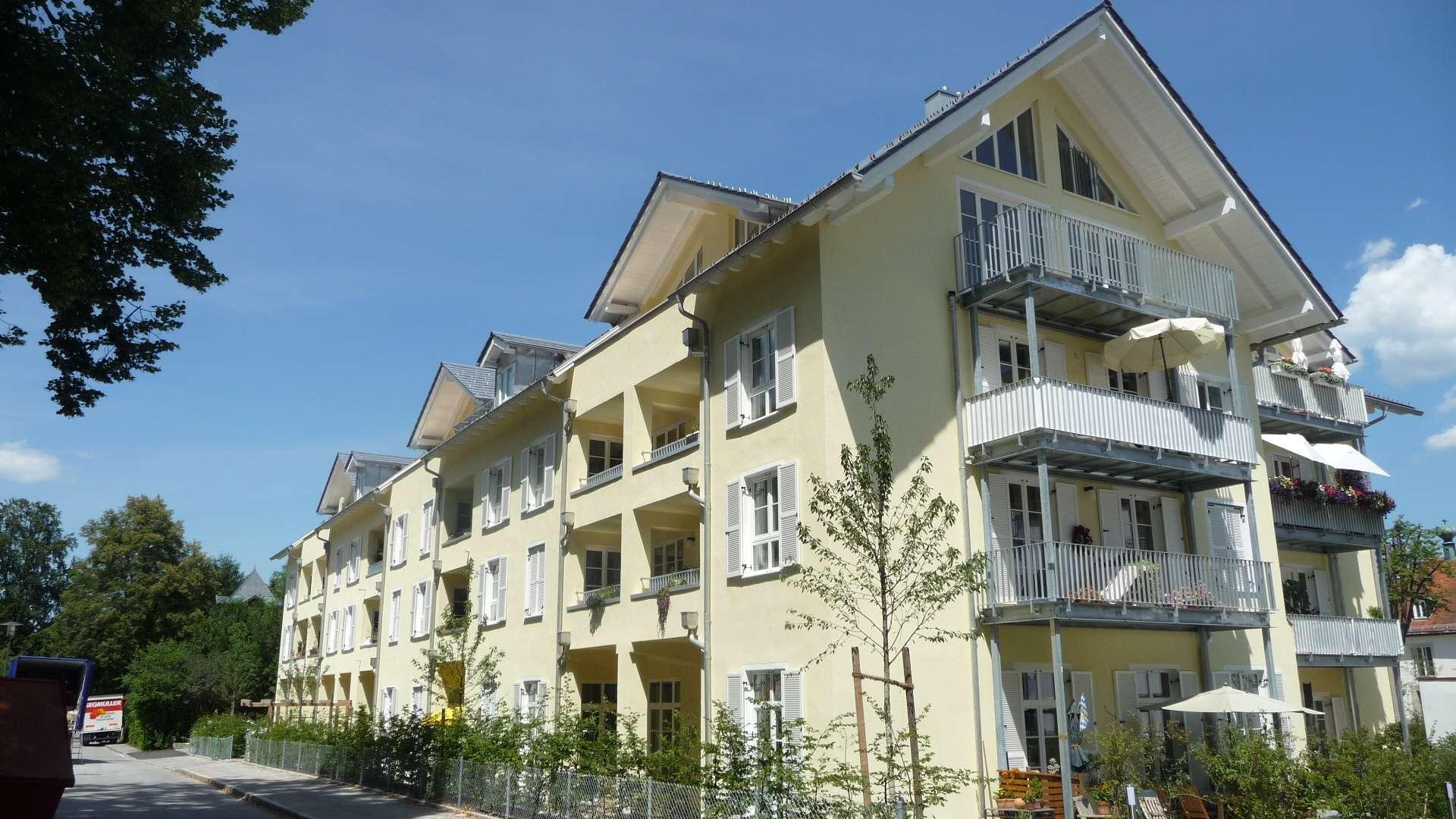 Kaiserlich wohnen in den Kaisergärten von Bad Tölz