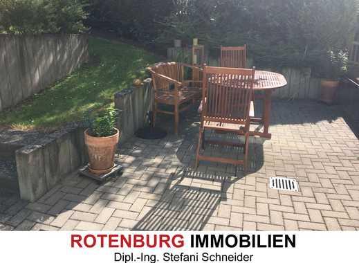 3,5-Zimmer-Wohnung mit Terrasse im EG Hochparterre stadtnah in Rotenburg