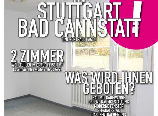 Stuttgart Bad Cannstatt  -  2-Zimmer-Wohnung mit Balkon