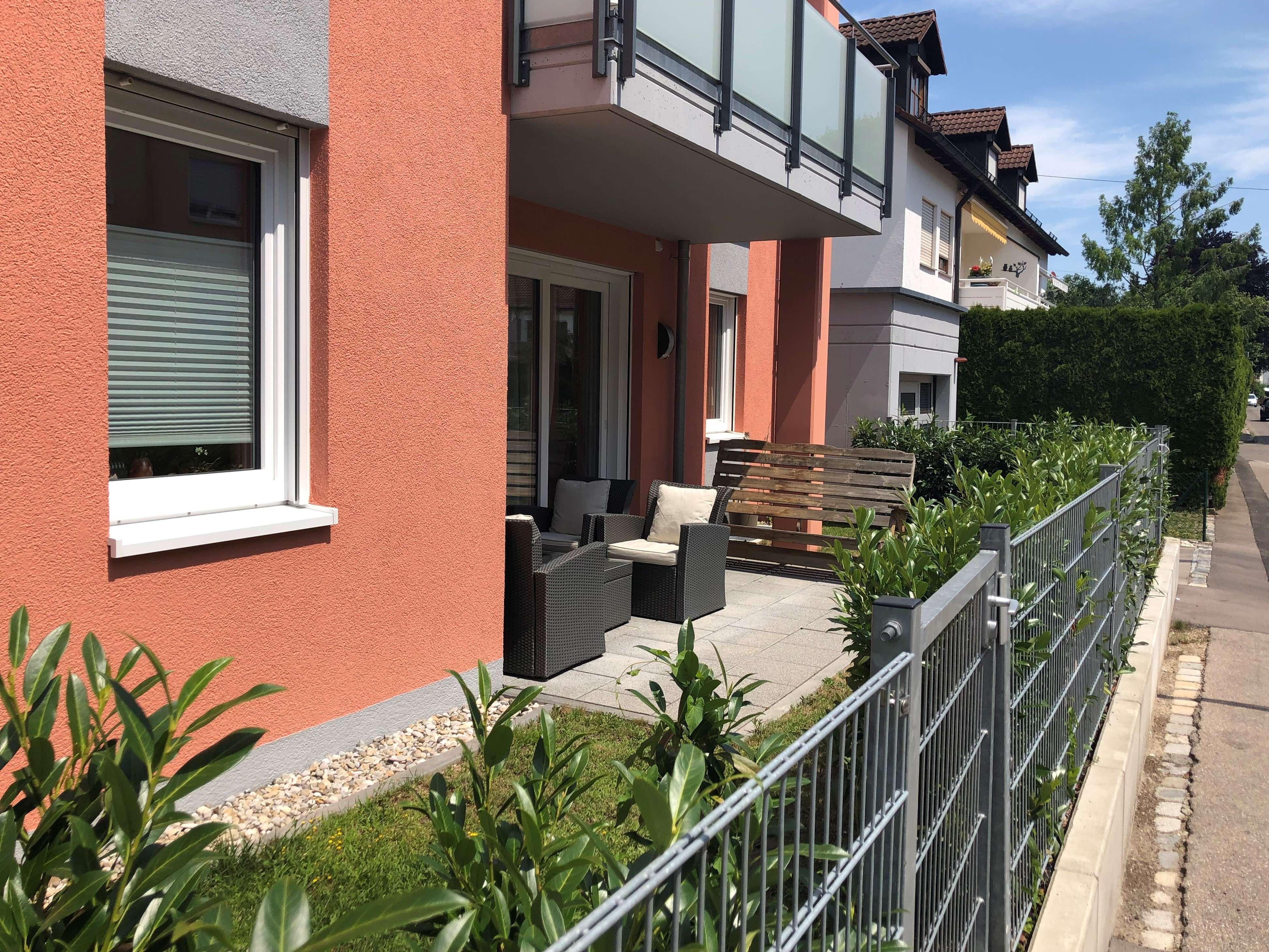 Gepflegte 3 ZKB Wohnung mit 2 Terrassen und Garten in Augsburg Hochzoll
