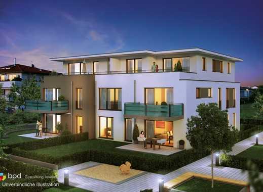 Haus 2: 2 Zimmer Erdgeschosswohnung mit Terrasse und Garten