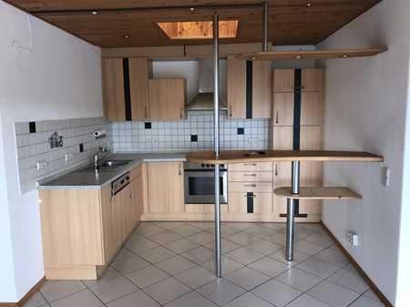 TOP ! 2-Zi. Penthouse-Wohnung in Senden-Ay - mit gr. Dachterrasse, EBK + TG-Stellplatz in Senden (Neu-Ulm)