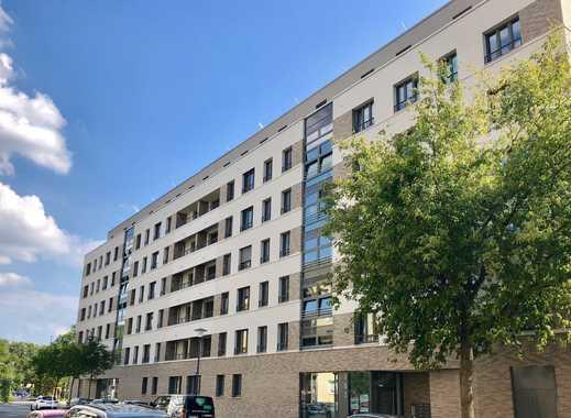 Neuwertige 3-R-Wohnungen mit Terrasse und Mietergarten