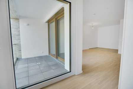 Moderne Neubau-Wohnung mit Loggia in Obermenzing (München)