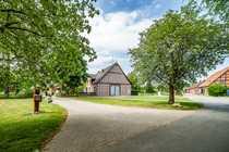 Einmaliges Fachwerkhaus im Rundlingsdorf Kulturlandschaft