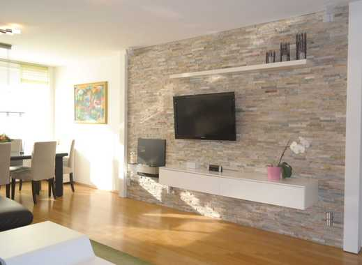 Helle, modern ausgestattete 3-Zimmer-EG-Wohnung mit Balkon und hochwertiger Einbauküche in Golzheim